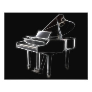 Grand Piano Musical Classical Instrument Flyer