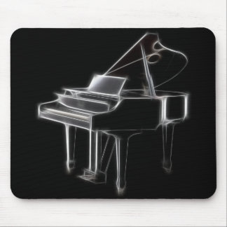 Grand Piano Musical Classical Instrument Mouse Pad