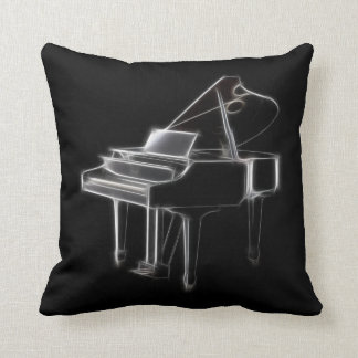 Grand Piano Musical Classical Instrument Pillows