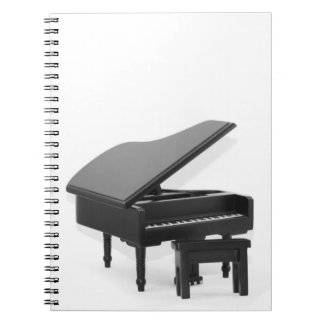 Grand piano notebook