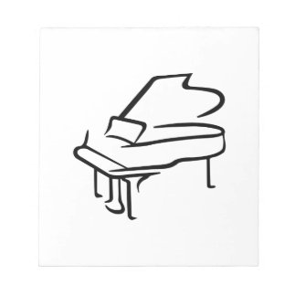 Grand Piano Notepad