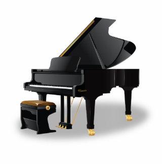 Grand Piano Photo Sculpture
