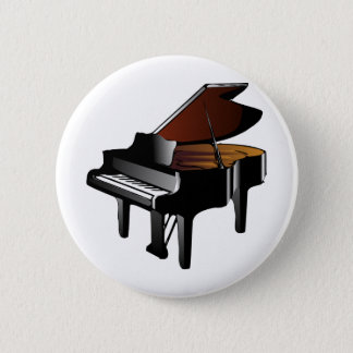 Grand Piano Pinback Button