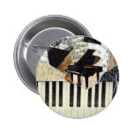 Grand Piano Pinback Buttons