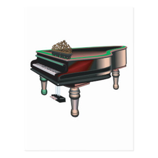grand piano post cards