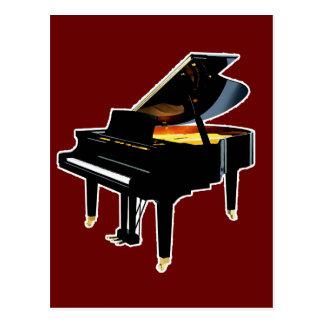 Grand Piano Postcard