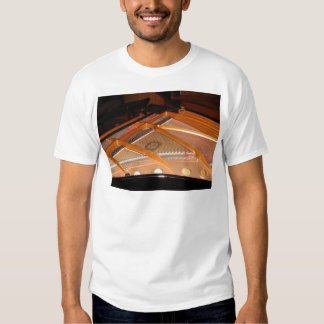 Grand Piano Soundboard Tee Shirt