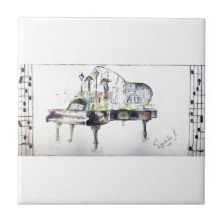 Grand piano tile