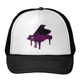 Grand Piano With Heart Trucker Hat