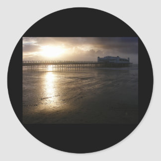 Grand Pier Weston Super Mare Classic Round Sticker