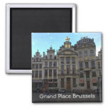 Grand Place, Brussels 2 Inch Square Magnet