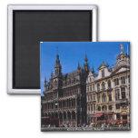 Grand Place, Brussels, Belgium Fridge Magnet