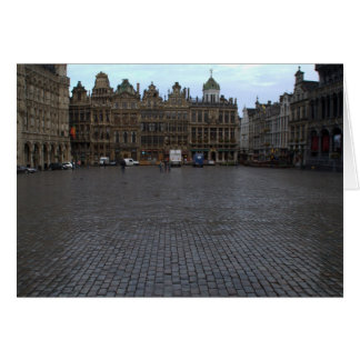 Grand Place, Brussels Card