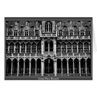 Grand Place Brussels Greeting Cards