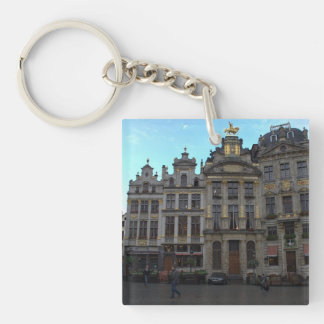 Grand Place, Brussels Keychain