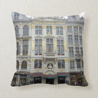 Grand Place Brussels photo pillow