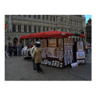 Grand' Place, Brussels Postcard