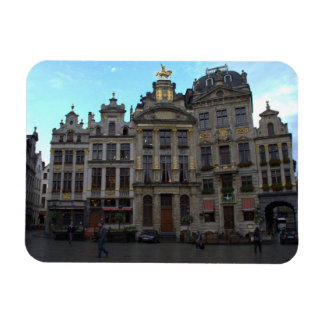 Grand Place, Brussels Rectangular Photo Magnet