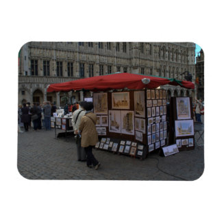 Grand' Place, Brussels Rectangular Photo Magnet