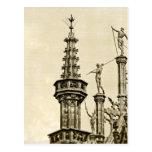 Grand Place in Brussels, Belgium Postcard