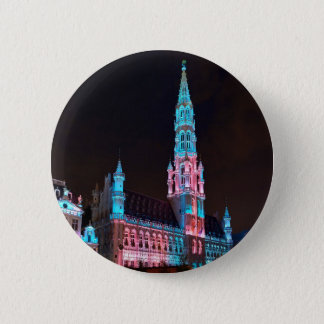 Grand Place in Brussels Pinback Button