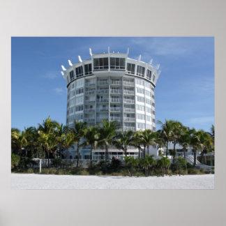 Grand Plaza Hotel, St Pete Beach Florida Poster