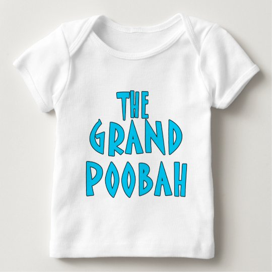 Grand Poobah Blue Font Products Baby T-Shirt