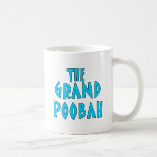 Grand Poobah Blue Font Products Coffee Mug