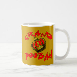Grand Poobah with Crown Products Coffee Mug