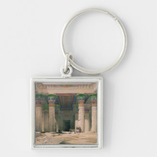 Grand Portico of the Temple of Philae, Nubia Key Chain
