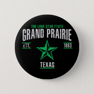 Grand Prairie Pinback Button