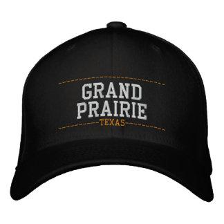 Grand Prairie Texas USA Embroidered Hats