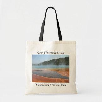 Grand Prismatic Spring Budget Tote Bag