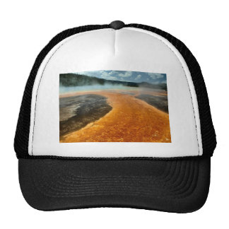 Grand Prismatic Spring Trucker Hat