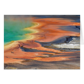 Grand Prismatic Spring Runoff Card