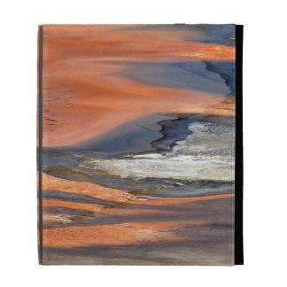 Grand Prismatic Spring Runoff iPad Folio Case