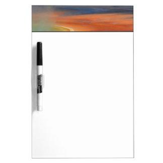 Grand Prismatic Spring Runoff Dry Erase Whiteboard