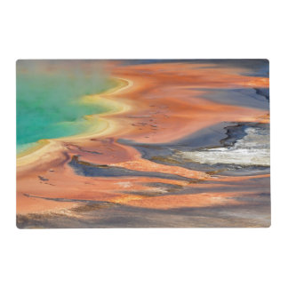 Grand Prismatic Spring Runoff Placemat