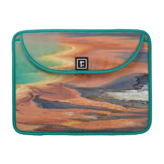 Grand Prismatic Spring Runoff Sleeve For MacBook Pro