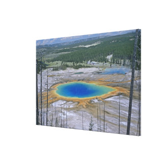 Grand Prismatic Spring, Yellowstone National Park, Canvas Print