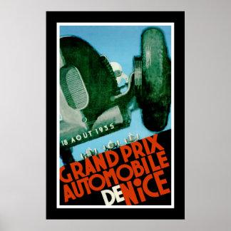 Grand Prix Automobile de Nice Poster