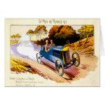 Grand Prix De France 1913 ~ Vintage Advertisement Card