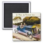Grand Prix de Francia 1913 Imanes Para Frigoríficos