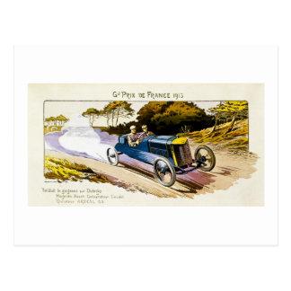Grand Prix de Francia 1913 Postal