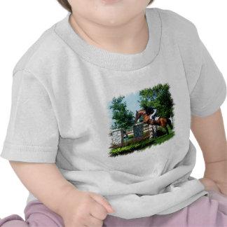 Grand Prix Horse Baby T-Shirt