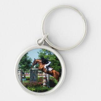 Grand Prix Horse Keychain
