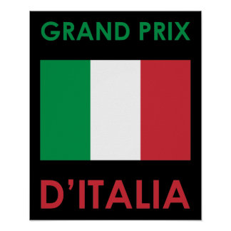 Grand Prix Italia Poster
