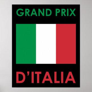 Grand Prix Italy Poster