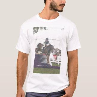 Grand Prix Jumping horse. T-Shirt