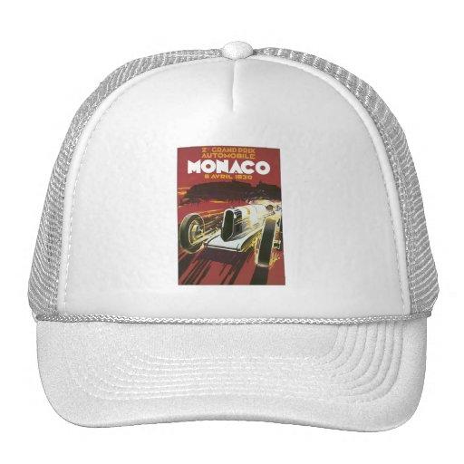 Grand Prix Monaco Avril 1930 Mesh Hats